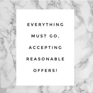 ☀️ ACCEPTING ALL REASONABLE OFFERS ☀️